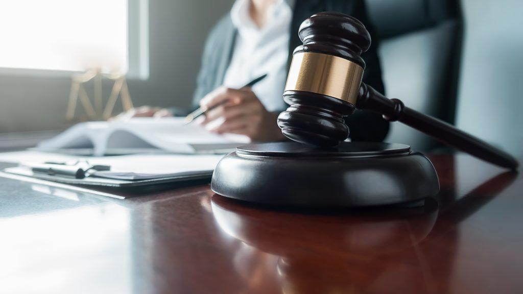 Een advocaat bij een ongeluk